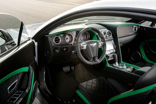 Bentley GT3-R Interior