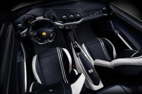 Ferrari F12berlinetta Polo & FF Dressage interiors