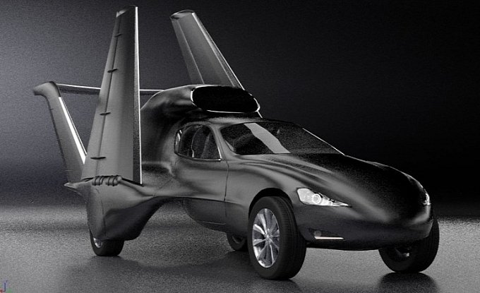 GF7 Jet Flying Car