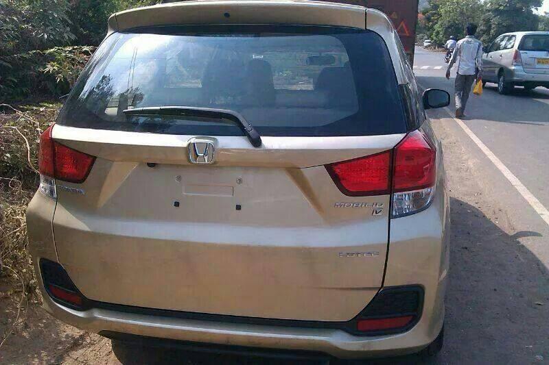 Honda Mobilio Diesel MPV Back View