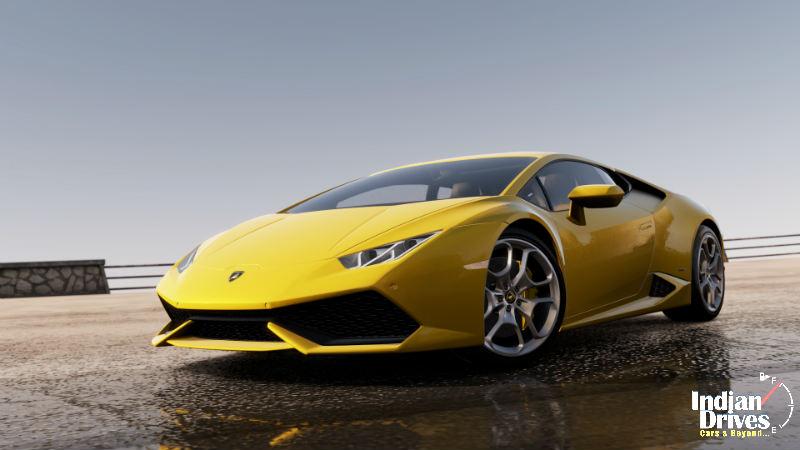 New Lamborghini Huracan LP 610-4