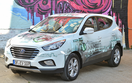 Hyundai Fashioned Fuel Cell ix35