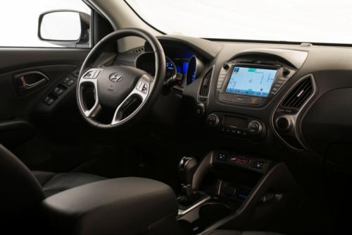Hyundai Tucson The Walking Dead Edition interiors