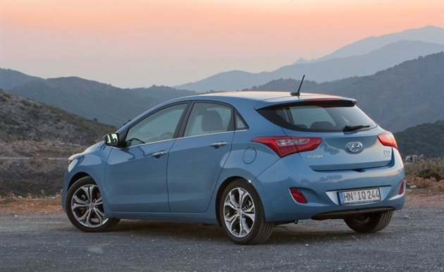 Hyundai i30 Back View
