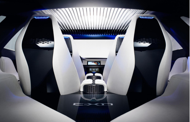 Jaguar C-X17  interiors