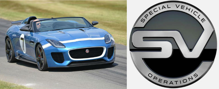 Jaguar Land Rover Special Operations Launched