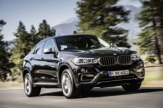 Second-Gen BMW X6 Revealed
