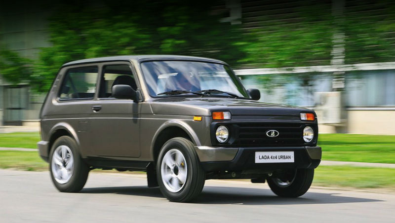 Lada Niva Goes Urban For 37th Birthday