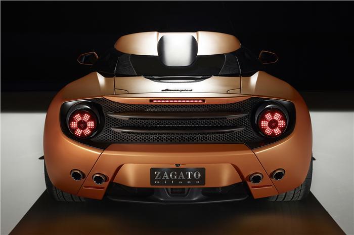 Lamborghini 5-95 Zagato Back View