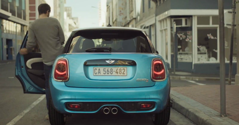 MINI Five-Door Hatchback Appears in its First Video