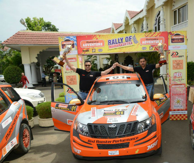 Mahindra Adventure Wins Rally of Maharashtra 2014