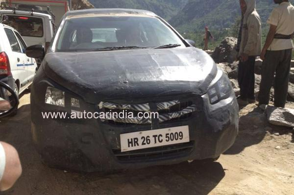 Maruti S-Cross Spied Testing in India for First Time