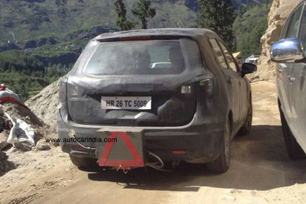 Maruti S-Cross Spied Testing in India