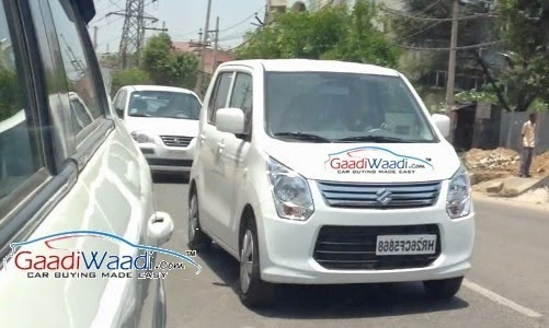 Maruti Suzuki Palette Spied While Testing In India