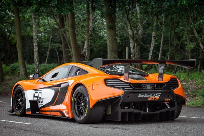 McLaren 650S GT3 Back View
