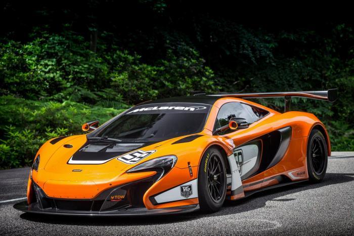 McLaren 650S GT3 revealed
