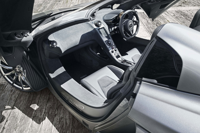 McLaren Limited Edition MSO 650S interiors