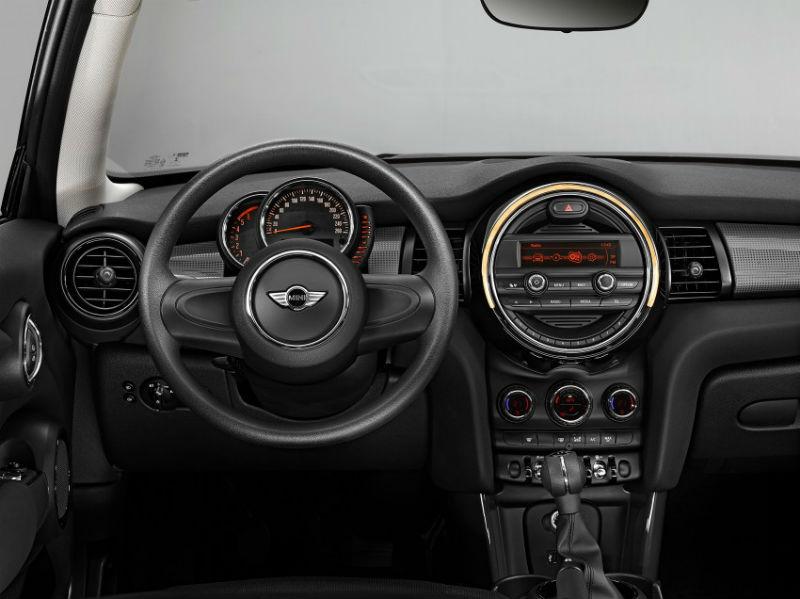 Mini Cooper SD interiors
