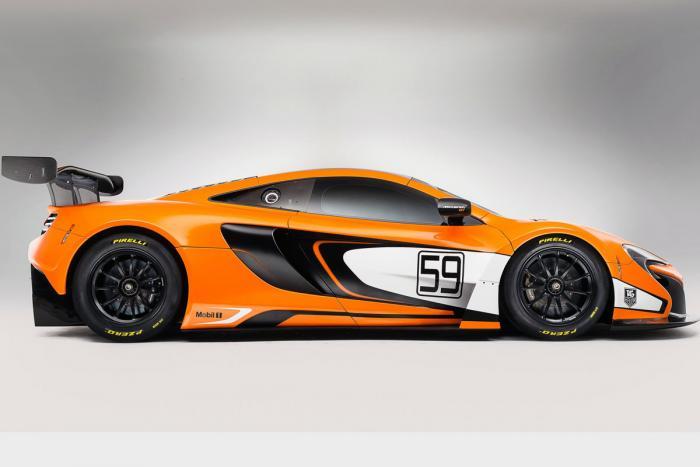 New McLaren 650S GT3 revealed