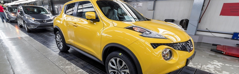 New Nissan Juke Enters Production in UK
