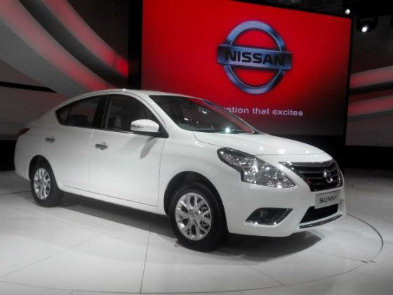 Nissan Sunny Facelift Variants Reveale