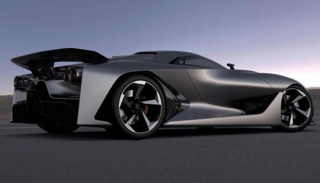 Nissan Concept 2020 Vision Gran Turismo revealed