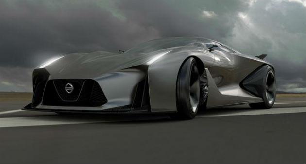 Nissan reveals Concept 2020 Vision Gran Turismo