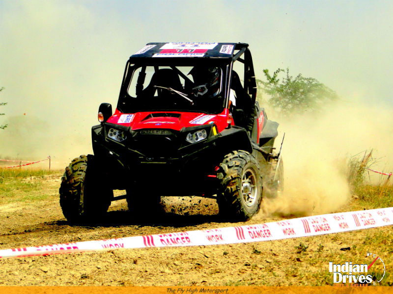 Polaris RZR XP 900 at Meerut Motocross