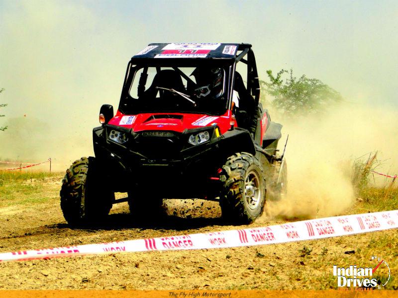 Polaris RZR XP 900 at Meerut Motocross
