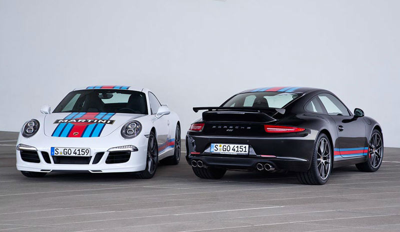 Porsche 911 Carrera S Martini Racing Edition Revealed