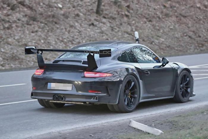 Porsche 911 GT3 RS To Go Turbo Back View