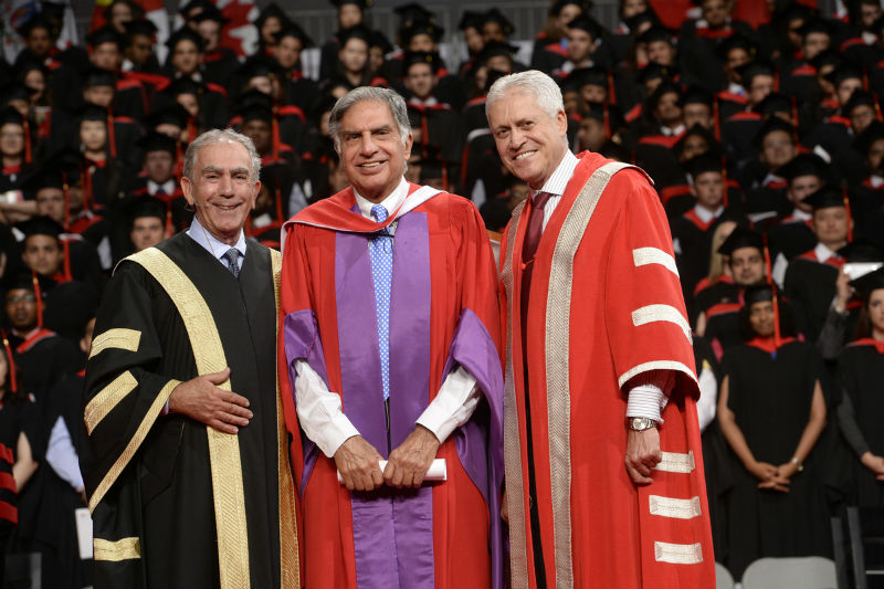 Ratan Tata Receives Honorary Doctorate From York University