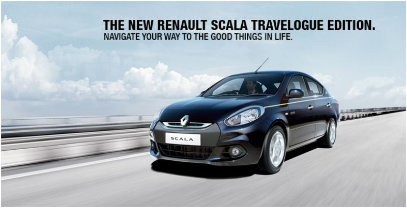 Renault Scala Travelogue Edition Launched