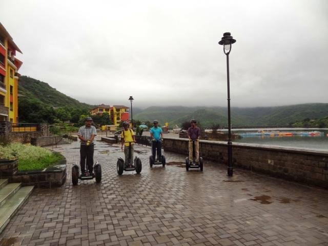 Segway Adventure ride in Lavasa