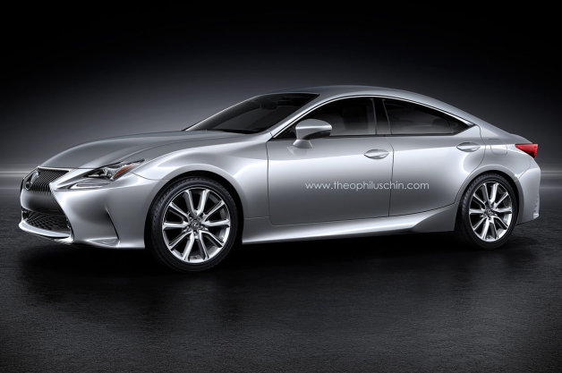 This Is What A Lexus RC-Based 'Four-Door Coupe' Might Look Like