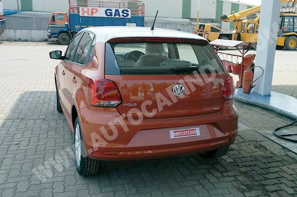 Volkswagen Polo Facelift Back View