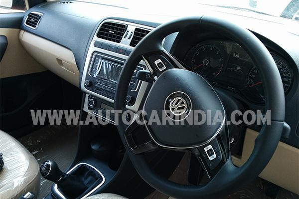 Volkswagen Polo Facelift interiors