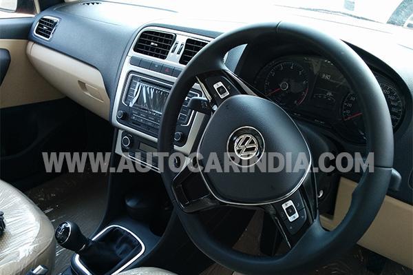 Volkswagen Polo Facelift interiors
