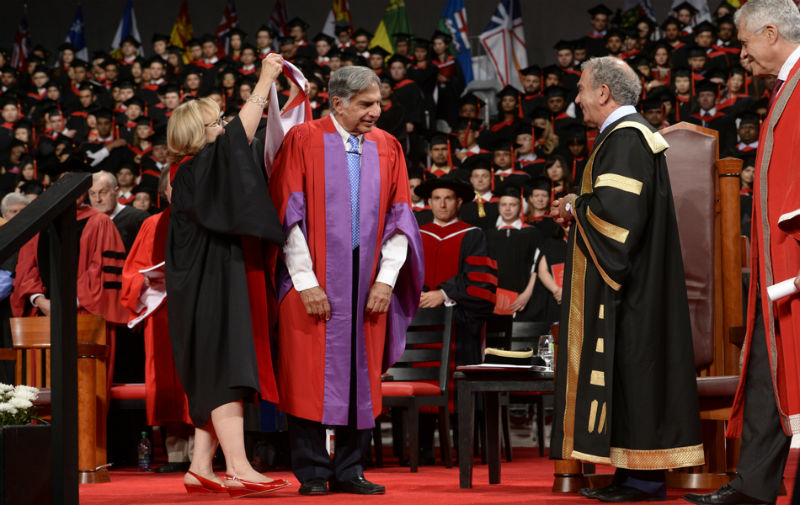 Ratan Tata Honoured By York University