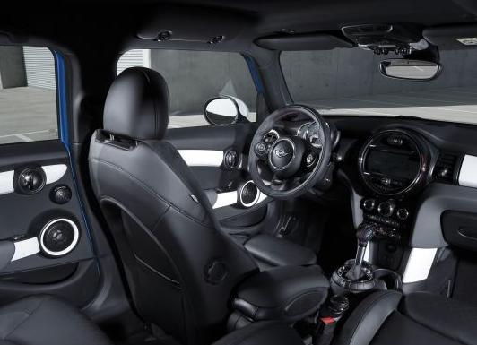 MINI Five-Door hatchback interiors