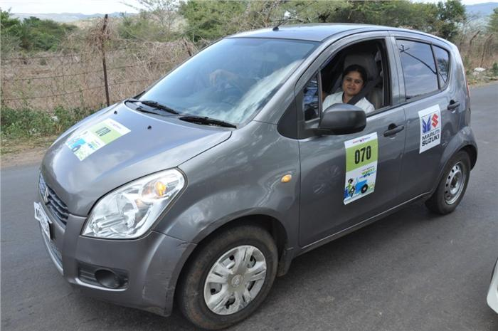 Maruti Suzuki Organises Women Car Rally In Pune