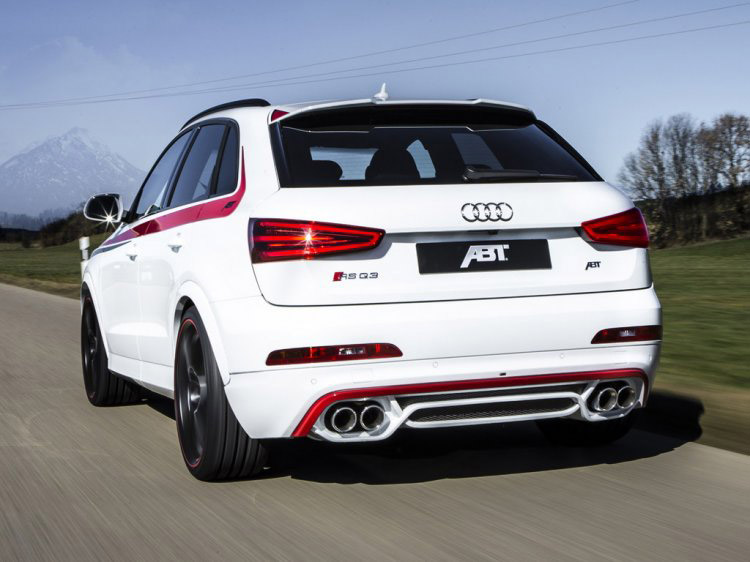 A Sporty 410-Horse Carriage - The ABT RS Q3