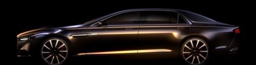Aston Martin Lagonda Super Sedan Teased Officially