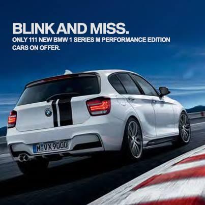 BMW 1 Series M Performance