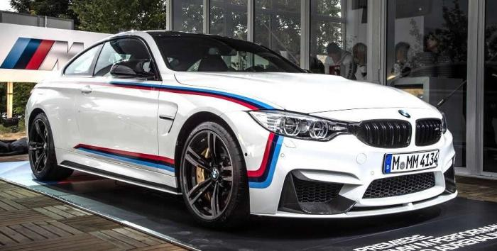 BMW Abu Dhabi Revealed M4 With M Performance Goodies