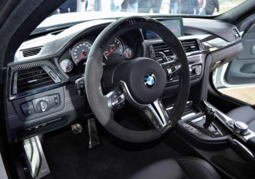 BMW Abu Dhabi Revealed M4 interiors