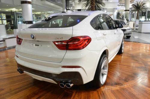 BMW X4 M Sport Back View