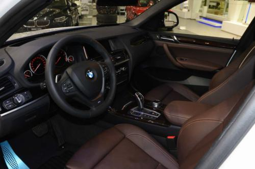 BMW X4 M Sport Package interiors