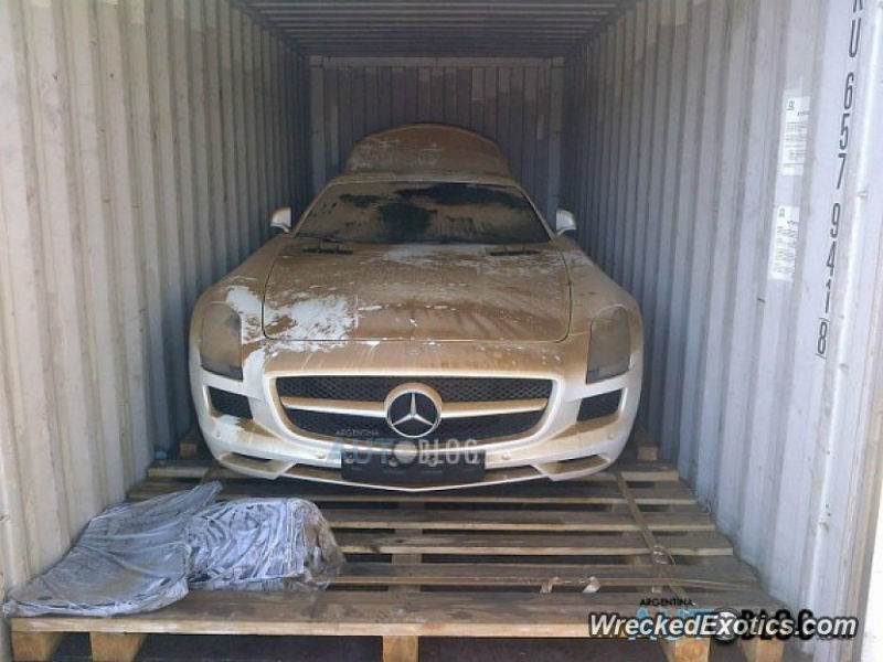 Brand New Mercedes SLS AMG