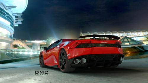 DMC Lamborghini Huracan Affari Unveiled Back View